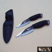 Two Piece Scorpion Throwing Knife Set